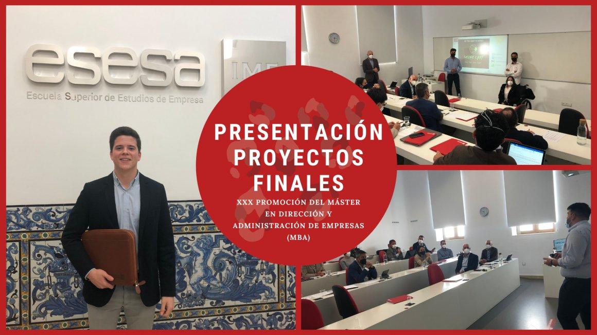 Presentación de proyectos de la XXX promoción del MBA